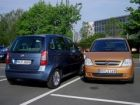 Opel Meriva - Fiat Idea - Foto: press-inform