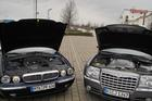 Jaguar vs Chrysler 300C  - Foto: Wolff