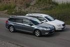 C5 Tourer vs Superb Combi - Foto: Wolff