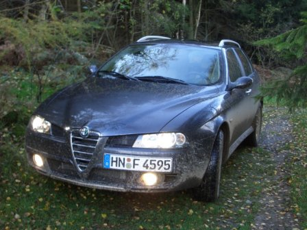 Alfa Romeo 156 SW Q4 - Foto: press-inform