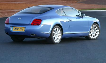 Bentley Continental - Foto: Hersteller