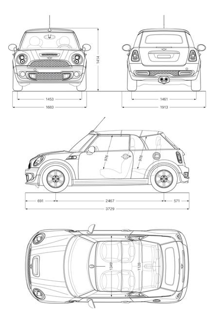 mini cooper d cabrio 2010 autokatalog ma e gewichte alle autos. Black Bedroom Furniture Sets. Home Design Ideas