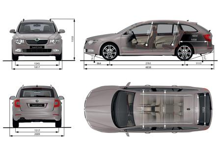 skoda superb 1 6 tdi cr combi autokatalog ma e gewichte alle autos. Black Bedroom Furniture Sets. Home Design Ideas
