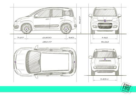 fiat panda 0 9 twinair turbo 2012 autokatalog ma e gewichte alle autos. Black Bedroom Furniture Sets. Home Design Ideas