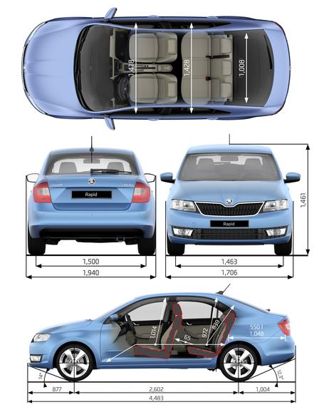 skoda rapid 1 2 tsi 2012 autokatalog ma e gewichte alle autos. Black Bedroom Furniture Sets. Home Design Ideas