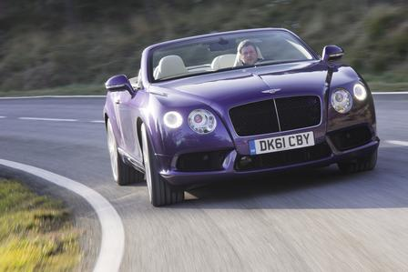 Bentley Continental GTC V8 - Foto: Hersteller