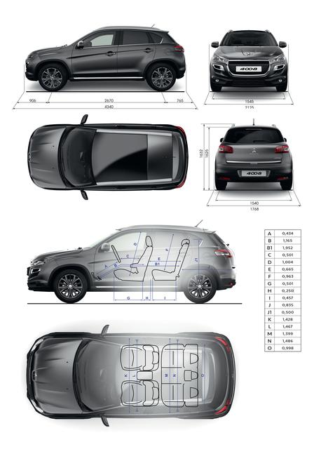peugeot 4008 hdi fap 150 2012 autokatalog ma e gewichte alle autos. Black Bedroom Furniture Sets. Home Design Ideas