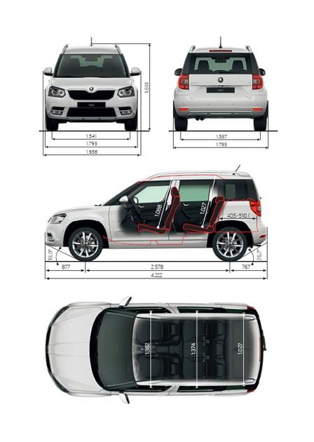 skoda yeti outdoor 2 0 tdi 4x4 2015 autokatalog ma e gewichte alle autos. Black Bedroom Furniture Sets. Home Design Ideas