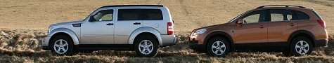Captiva vs Dodge Nitro