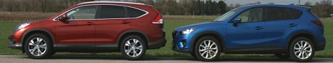 Honda CR-V vs. Mazda CX-5