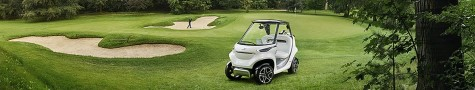 Mercedes Golf Cart