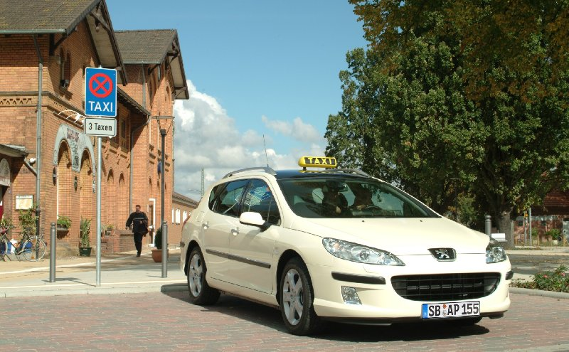 Peugeot 407 SW Taxi