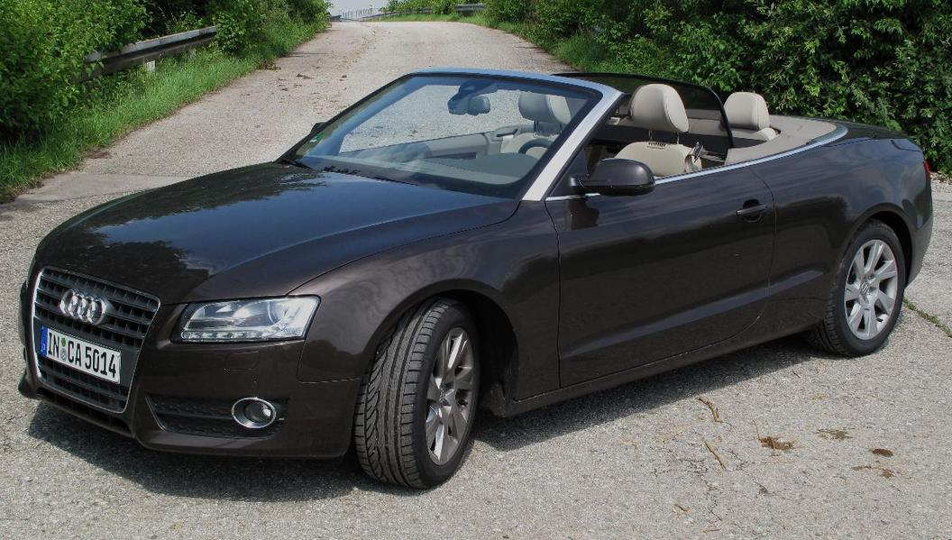 audi a5 2 7 tdi cabriolet praxistest foto 1 von 25 alle autos. Black Bedroom Furniture Sets. Home Design Ideas