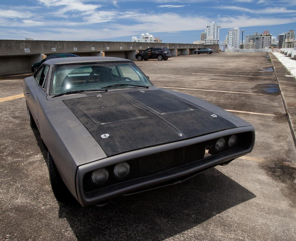 Toretto S Muscle Car
