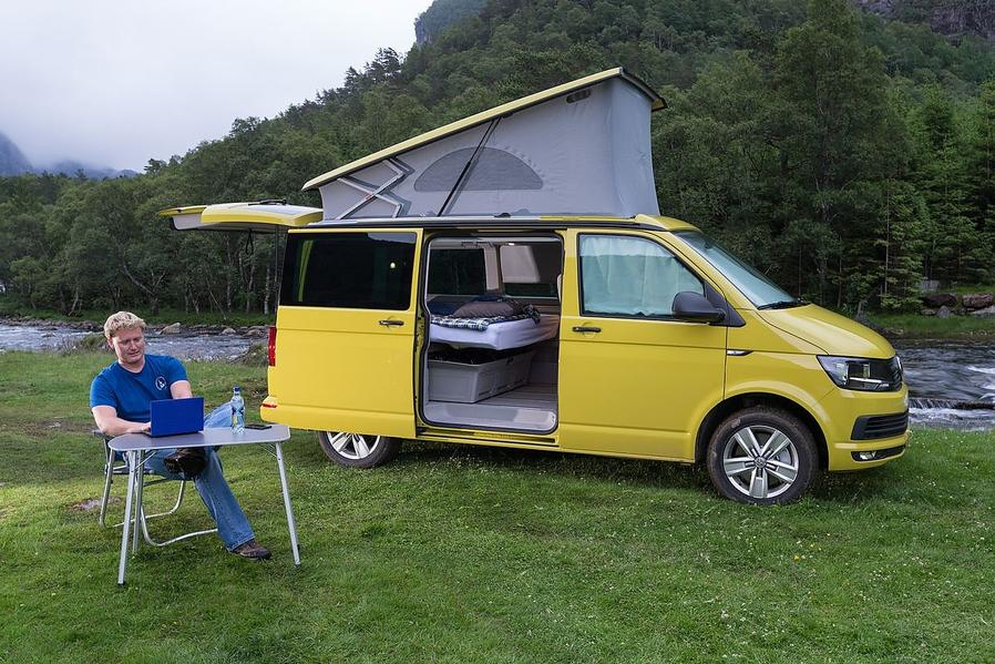 volkswagen multivan t6 california 2 0 tdi fahrbericht. Black Bedroom Furniture Sets. Home Design Ideas